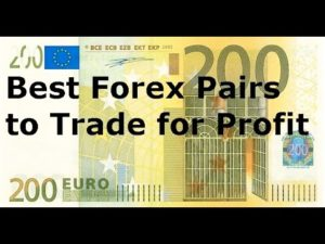 Top forex tradiang pairs
